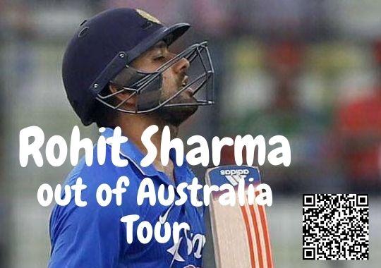 Rohit Sharma Australia Tour