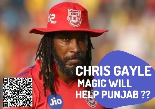 chris Gayle magic for KXIP