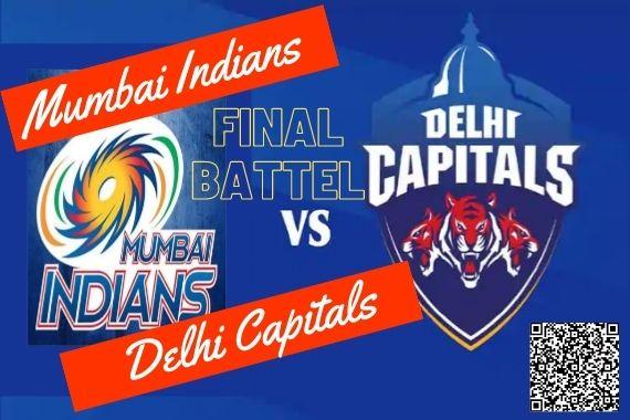 IPL final Mumbai Indians vs Delhi Capitals