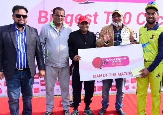 Uttar Pradesh Cricket Association defeated the Sporting Club of Delhi