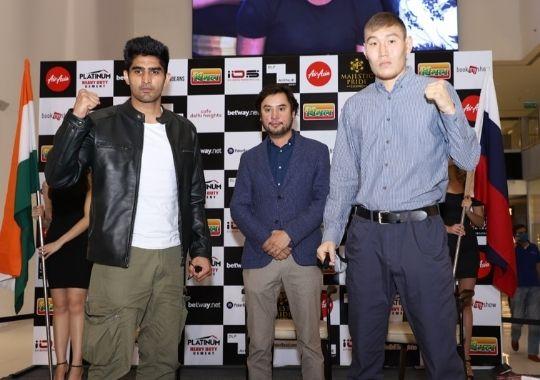 Boxer Sagar Narwat challenged Olympic medalist Vijender Singh
