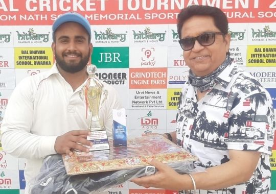 Swami Shraddhanand College in the quarter-finals of Om Nath Sood Cricket