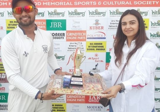 Swami Shraddhanand College's easy win in Om Nath Sood Cricket