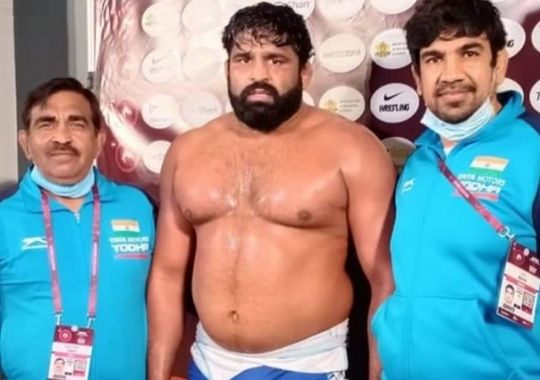 Free Style Wrestler has qualified for 2021 Tokyo Olympic Games