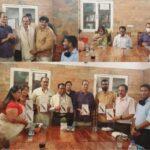 """अशोक कुमार ध्यानचंद ने """"ओलंपिक गाथा"""" पुस्तक का विमोचन किया"""