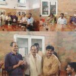 """अशोक कुमार ध्यानचंद द्वारा """"ओलंपिक गाथा"""" पुस्तक का विमोचन"""